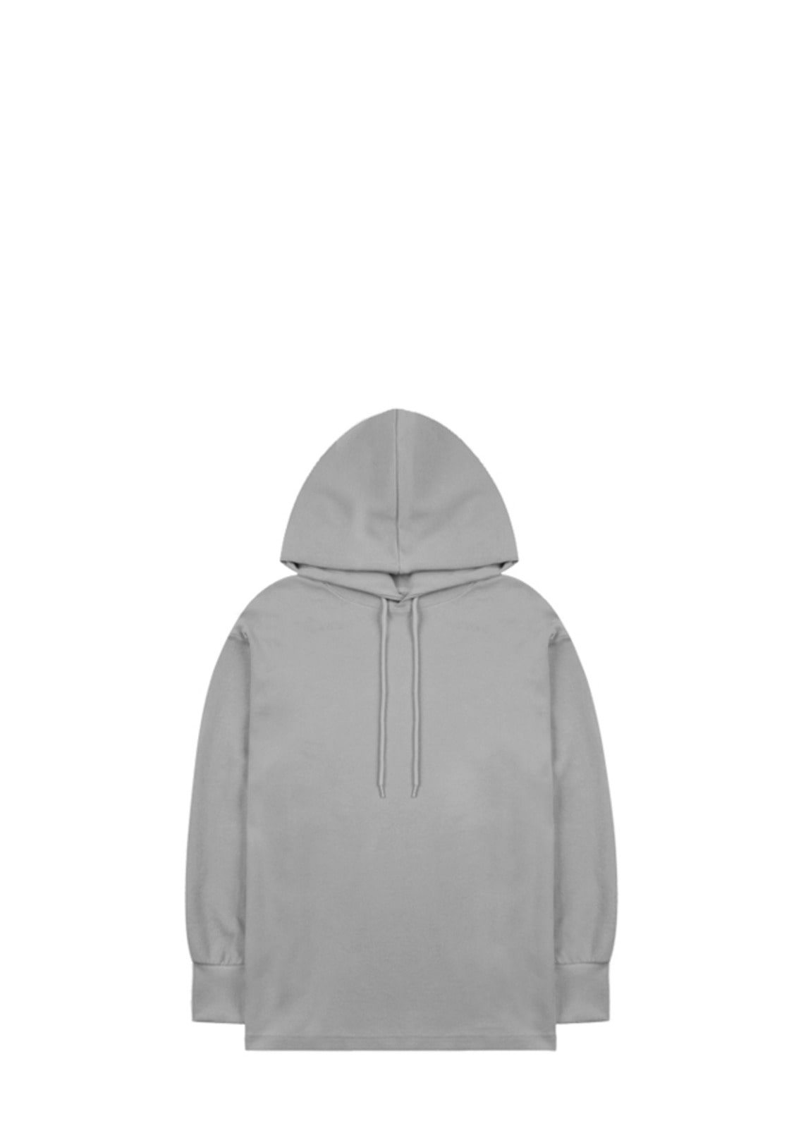 V321 LOOSE FIT OVER HOODIE  DEEP GRAY