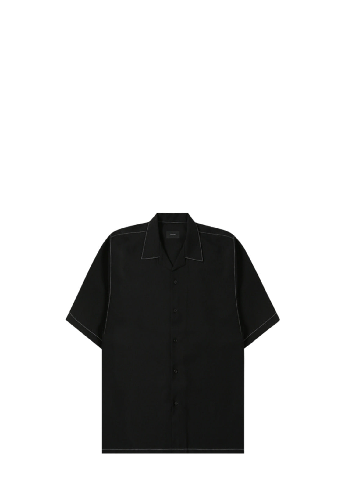 V420 STITCHES SHIRT  BLACK
