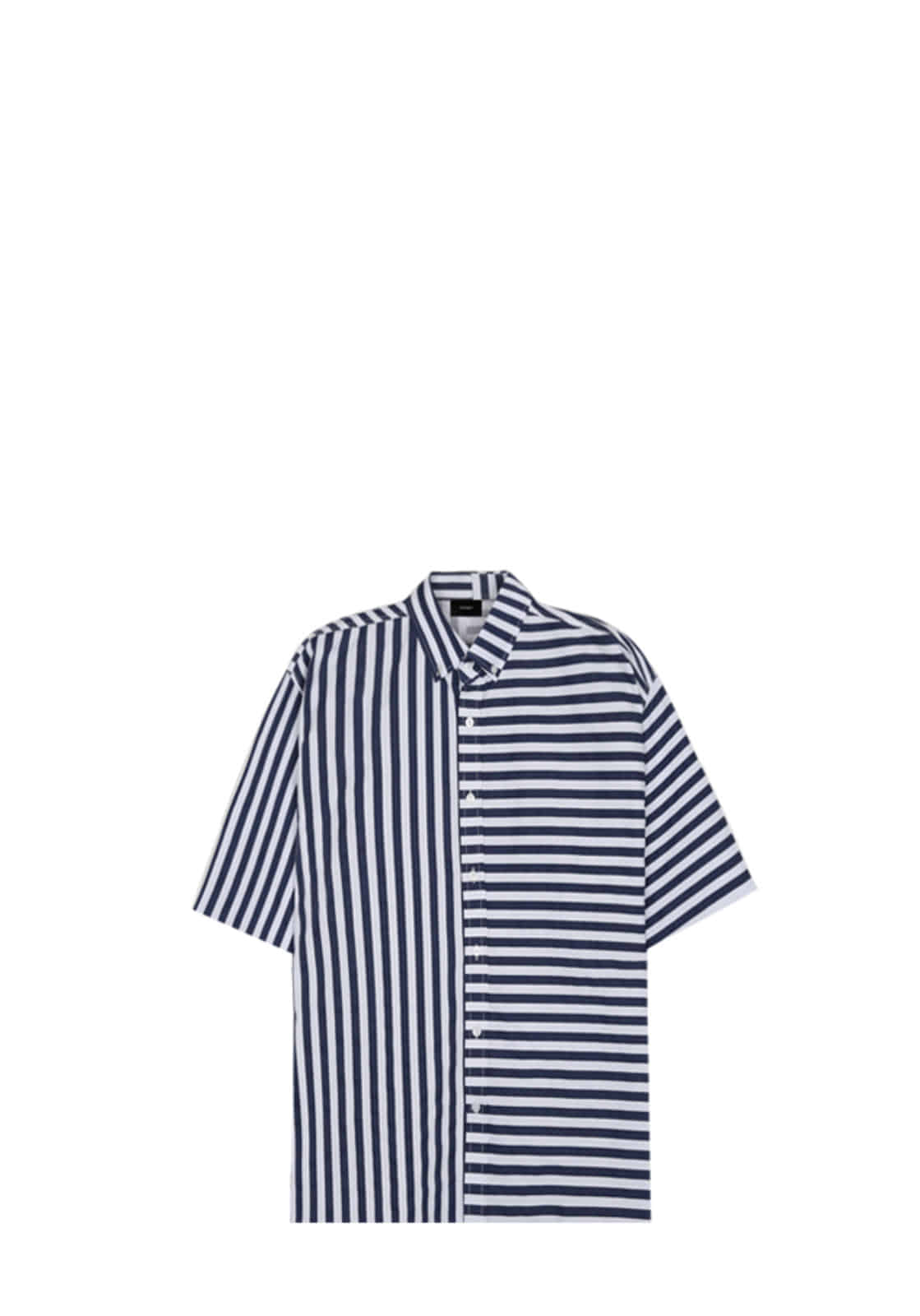 V421 MARINE STRIPE SHIRT  BLUE