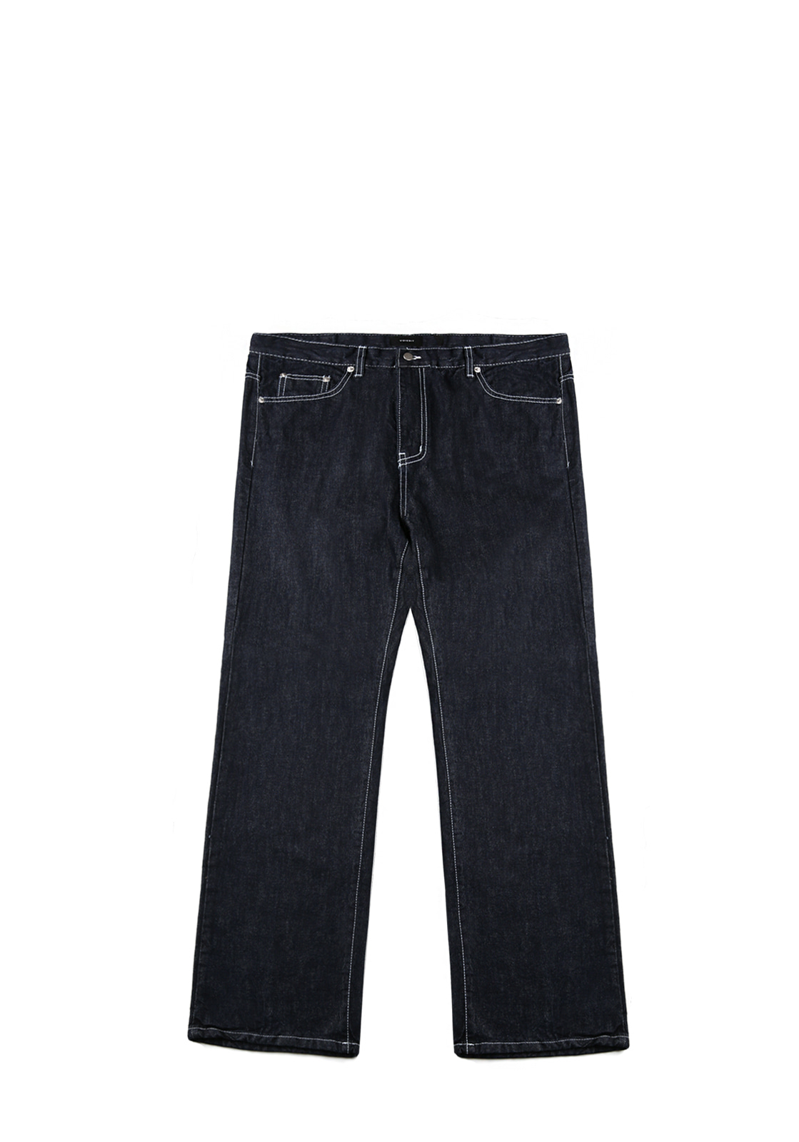 V231 STITCH WIDE DENIM PANTS  INDIGO