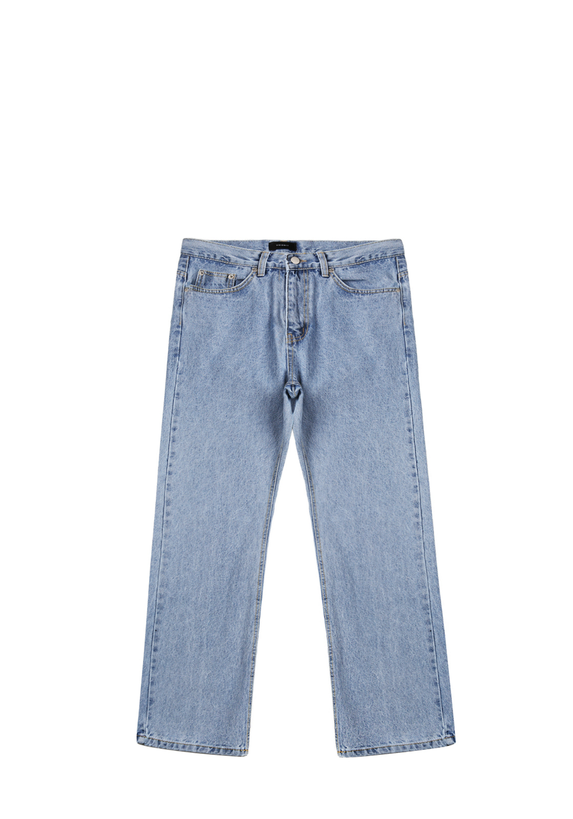 V232 LIGHT NONE SPAN WIDE DENIM PANTS  LIGHT BLUE
