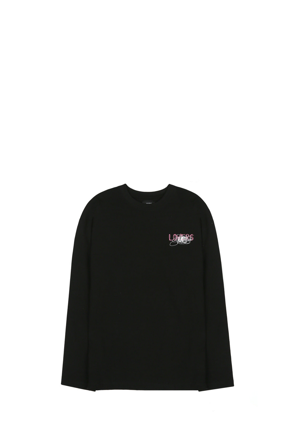 V341 GRAFFITI LONG-SLEEVE  BLACK