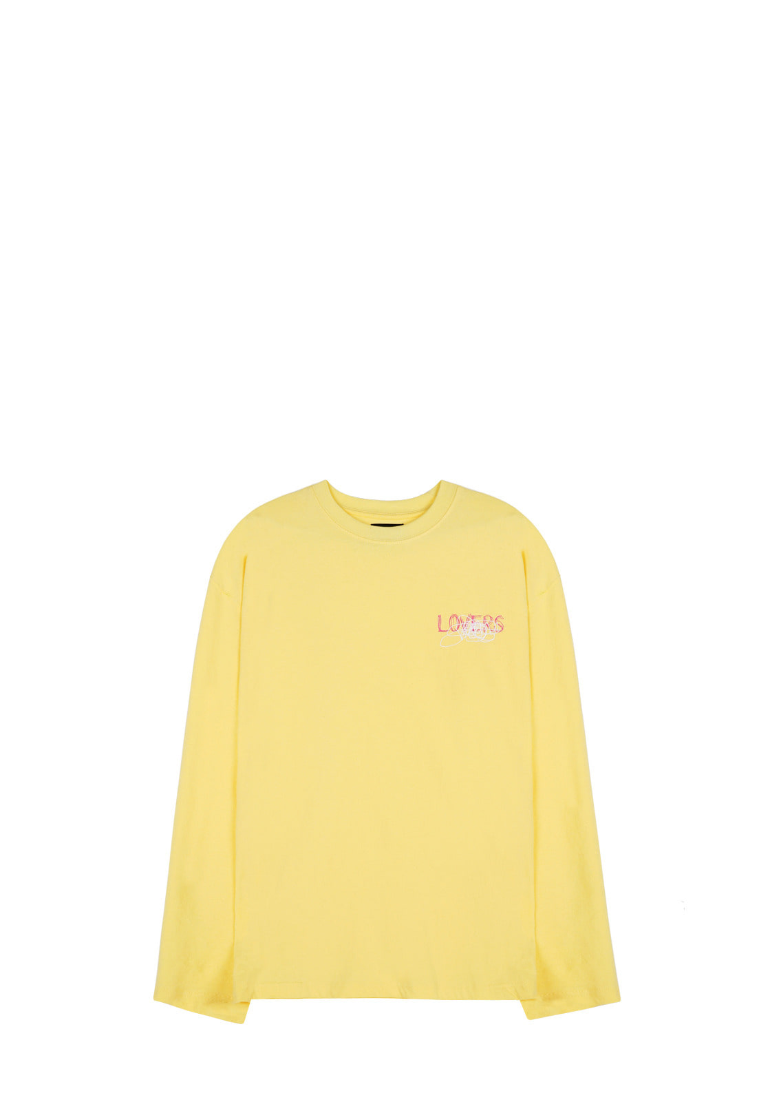 V341 GRAFFITI LONG-SLEEVE  YELLOW