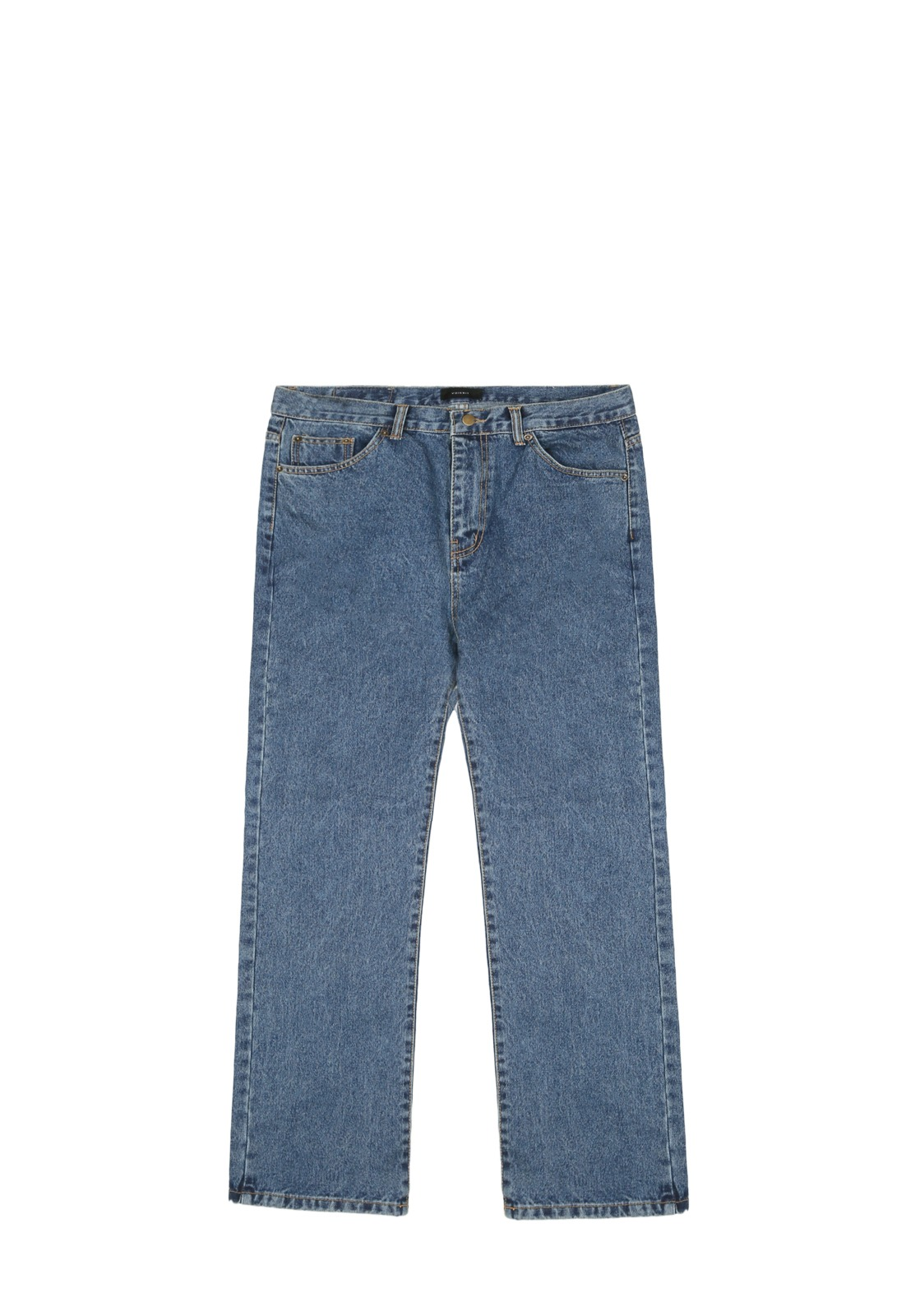 V232 NONE SPAN WIDE DENIM PANTS  BLUE