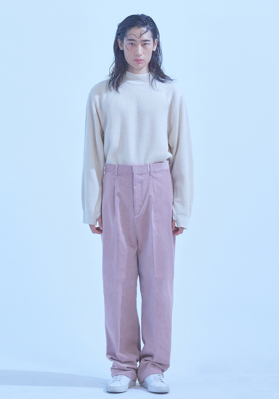 [브아빗x노승화] VG0005 WIDE BAGGY CORDUROY PANTS  PINK